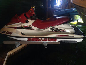 VERY LOW HOURS 1999 SEA DOO GSX