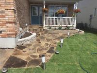 Landscape renovations