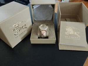 Women's burberry watch. Brand New and Authentic!