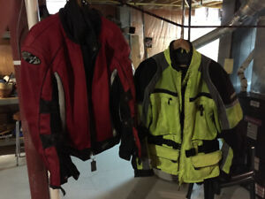 Motercycle Jackets and Pants
