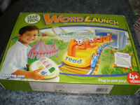 Leap frog word launch