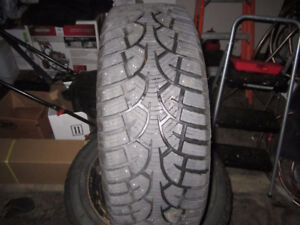 205/60/R16 WINTER TIRES ON 5 STUD TOYOTA RIMS