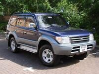 EXCELLENT EXAMPLE 8 SEATER! TOYOTA LAND CRUISER COLORADO 3.0 TD GX AUTO