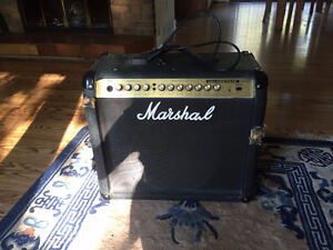 Marshall Valve amp and 2 electric guitars