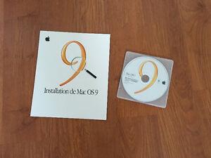 Mac OS 9.0.4 et Mac OS X 10.5.4 PPC et Intel