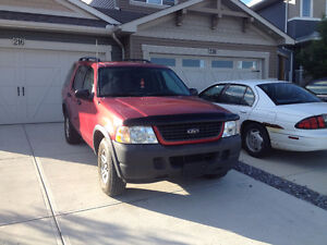 2003 Ford Explorer Low KM's Needs Out of Province insp