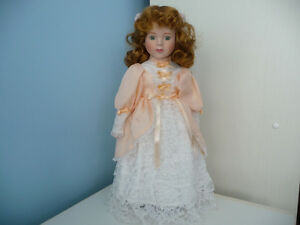 Porcelain Doll With Stand And Original Box - 4 To Choose From Kitchener / Waterloo Kitchener Area image 5