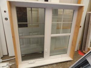Fenêtres et portes neuves