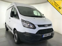 2014 FORD TRANSIT CUSTOM 270 ECO-TECH DIESEL 1 OWNER FORD SERVICE HISTORY