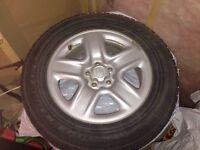 Toyo Winter Snow tires on Toyota rims 225/65 R17
