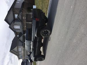 Lifted 2001 Dodge Power Ram 2500 Pickup Truck