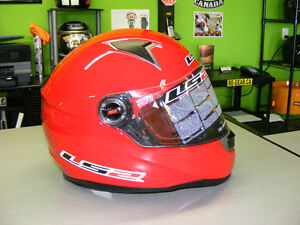 LS2 - Full Face Helmets - Red - NEW - All Sizes at RE-GEAR Kingston Kingston Area image 2