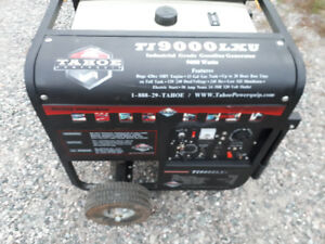 9000 watt generater like new with remote and electric start