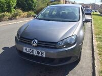 Volkswagen Golf 1.6 TDI Match Bluemotion, DSG Automatic, Full Main Dealer Service History.