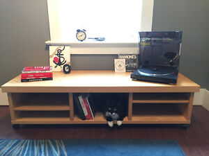 Lack Ikea Wood Coffee Table or TV Bench