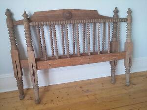 Gorgeous original antique bed