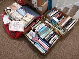 Massive book job lot, 3 boxes