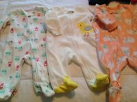Baby girl clothing: 0-3 Months & 3-6 months