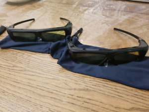 Samsung 3D glasses (Active Shutter) Syncs with t.v. /playstation