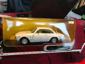 Alfa Romeo Giulia Sprint GTA 1965 diecast 1/18 die cast
