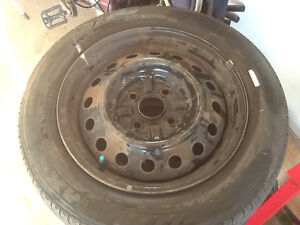 ECHO rims and tires