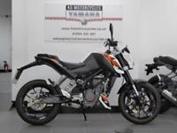 16 REG KTM DUKE 200 GREAT STARTER BIKE, A2 LICENCE READY MINT CONDITION