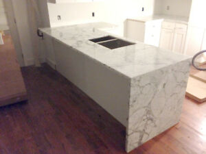Waterfall Granite/Quartz Countertops - ***Promotion ***$4000