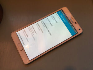 Unlocked Galaxy Note 4 with Powerbear Extended Battery