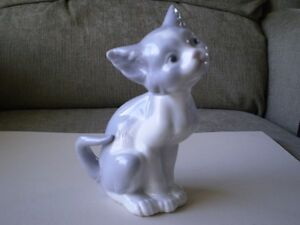 "Lladro Figurine - "" Cat "" - #5113"