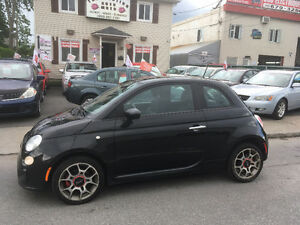 FIAT   500   2012      Automatique   Tres  agreable  a conduire