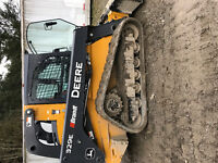 Rent: excavator skid steer bobcat compaction ditch witch