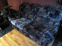 Sofa 2 places en excellente condition