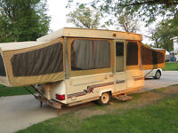 12' 1988 Starcraft Tent Trailer in good shape for it's age.