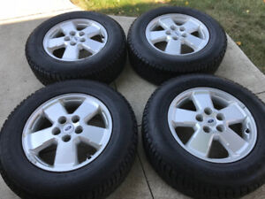 2011 Ford Escape Alloy Rims With Winter Tires For Sale