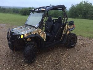 2013 Polaris RZR Camo Side by Side