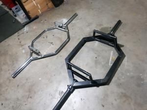 Hex Trap Deadlift Bars x 2