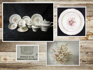 Vaisselle antique American Limoge 52 mcx  ( #101)