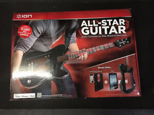 Ion All Star Guitar Electronic System For Ipad Iphone