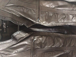 Real leather jacjet