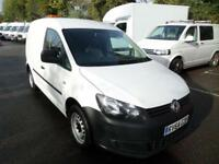Volkswagen Caddy 1.6 Tdi 102Ps Startline Van DIESEL MANUAL WHITE (2014)
