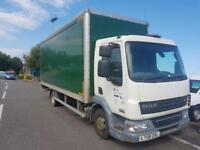 DAF TRUCKS LF 45.160 7.5 TON 20 FOOT BOX LORRY WITH TAIL LIFT DIRECT COUNCIL
