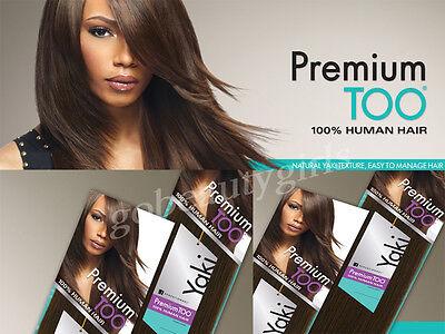 100% HUMAN HAIR Sensationnell Premium Too Yaki Weaving Hair
