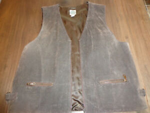 Suede Vest For Sale  $40.00 each
