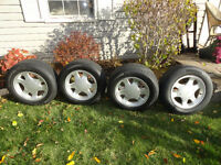Micheline tires on Mustang Rims