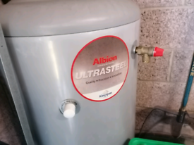 Kingspan ultrasteel 120 litre indirect unvented hot water cylinder