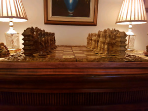 Beautiful Ceramic Chess Set