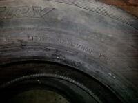 2 TOYO WINTER TIRES 17 INCH