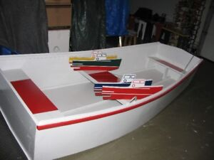 Plywood and Pine 8' Dinghy