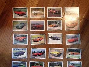 Muscle Cars MOPAR Trading Cards from the 1992 Collect-A-Card Cor Sarnia Sarnia Area image 2