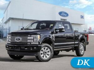 2018 Ford F-350 Super Duty Platinum  w/Leather, Moonroof, Nav, a